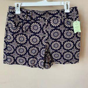 NWT! Anthropologie elevenses printed shorts #533
